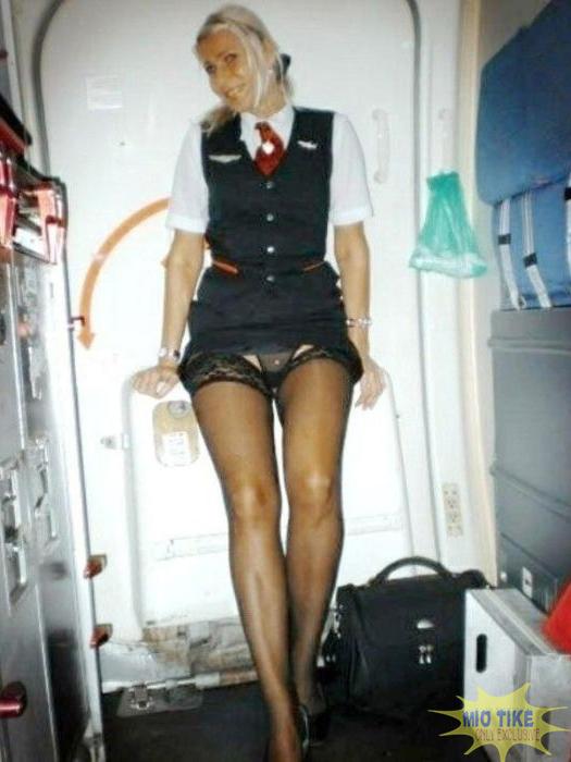порно стюардесс фото стюардессе под юбку