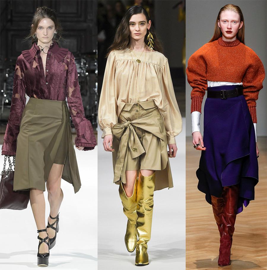 Стильные юбки 2018-2019, модные юбки в новом сезоне осень-зима