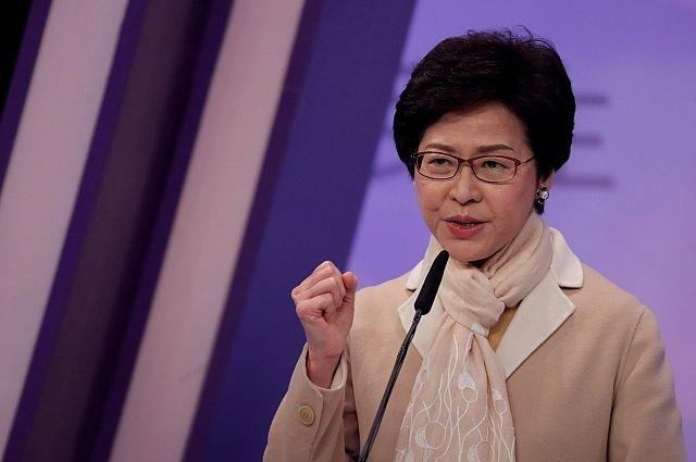 Правительство Китая утвердило Кэрри Лам на пост главы Гонконга