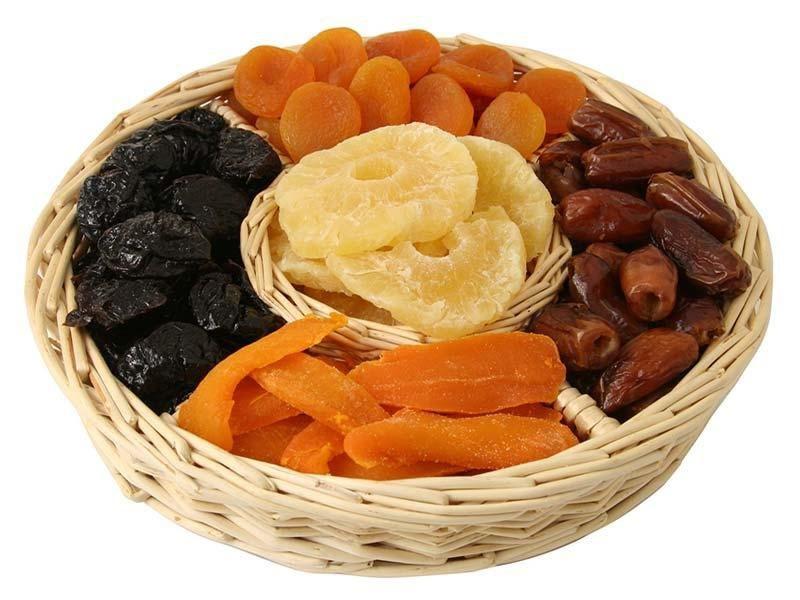 Диета на сухофруктах, особенности диеты, плюсы и минусы