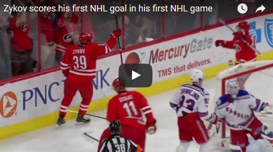 В НХЛ появился еще один русский