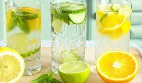 Целебные своййства теплой лимонной воды
