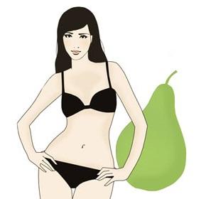 Женщина с типом фигуры груша, советы по подбору одежды