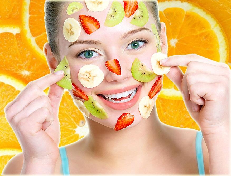 как делают фруктовый пилинг для лица, советы
