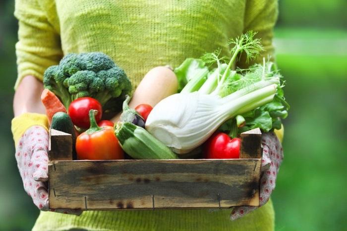 меню овощной диеты