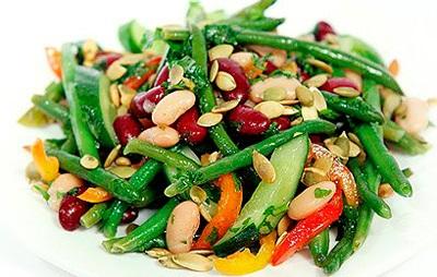 рецепты салатов со спаржей