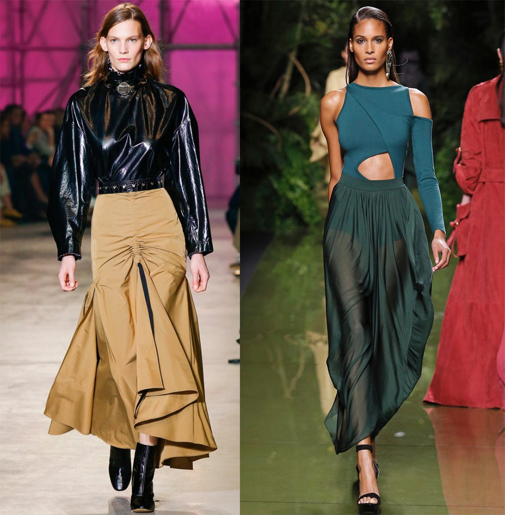какие юбки носить в 2017 году