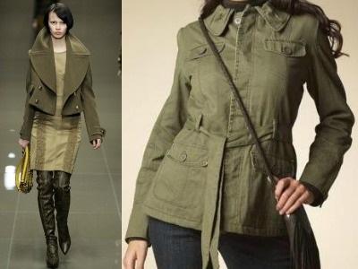 подбор одежды в стиле милитари