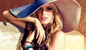 с чем носить шляпу с широкими полями летом