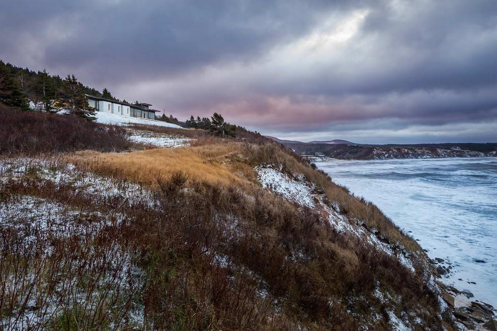 Дом с видом на океан в Канаде
