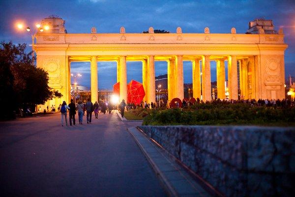 Парк Горького закрыли в Москве из-за урагана