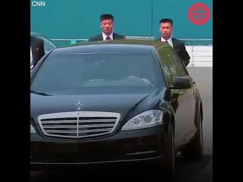 Кортеж Ким Чен Ына