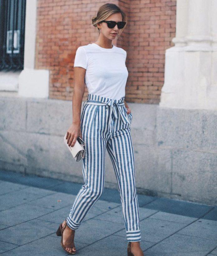Самые модные брюки сезона пижамный стиль