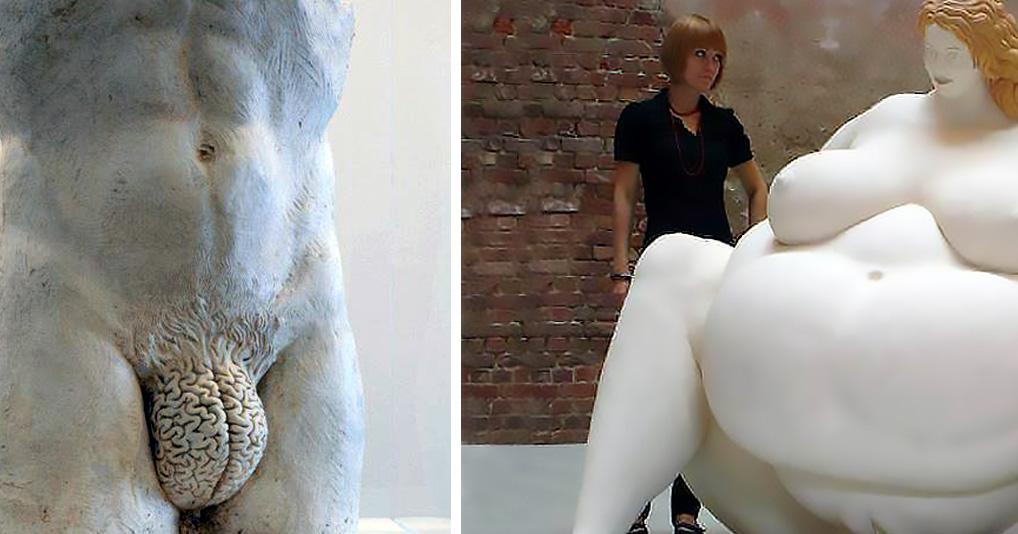 Необычные скульптуры, в чье существование на самом деле трудно поверить