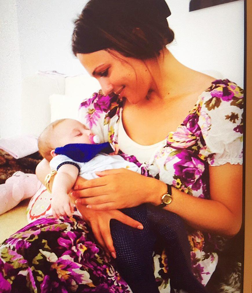 Мамина копия: дочь «Роксоланы» растет настоящей красавицей