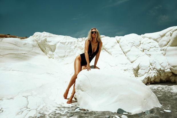 Портфолио XXL: пляжные приключения с Алиной