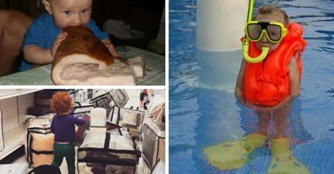 17 доказательств того, что жизнь с детьми — это бесконечный карнавал