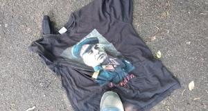 Молился, чтобы не убили: В метро Киева напали на мужчину со Сталиным на футболке