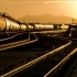 В США произошла утечка нефти с сошедшего с рельсов поезда
