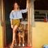 Эмилия Фридман-Вишневская отправилась на помощь детям и животным Уганды
