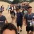 Сборная Дании играет с местными на пляже в Анапе