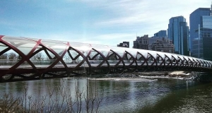 В Чите падающий мост сняли на видео