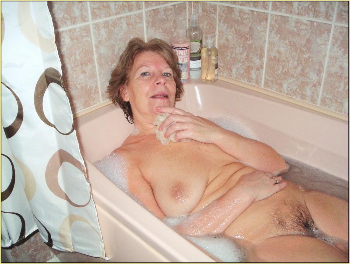 Old Naked Shower