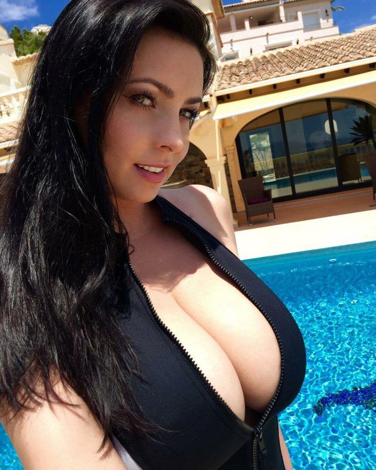 Moms big busty boobs